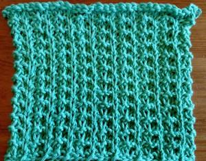 Dishcloth-Whelk Stitch