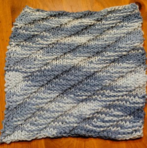 Dishcloth-diagonal
