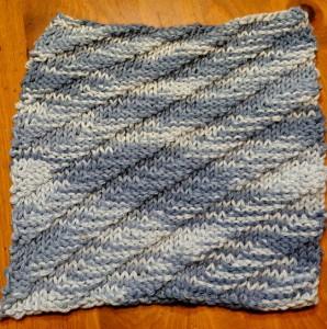 Dishcloth-diagonal